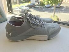 🔥 Under Armour Reign Training Running Gym Shoes Gray White 3021289-102 Size 11