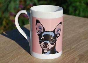 Chihuahua porcelain single mug