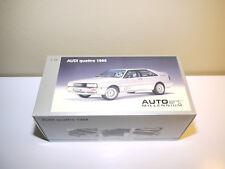 AUTOart 1:18 1988 Audi Quattro Silver