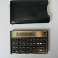 Hewlett Packard HP 12C Financial Calculator with Case & New batteries Installed