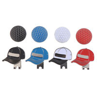 1pc Golf Ball Mark with Golf Hat Clip Magnetic Outdoor Alloy Golf Marker Caps