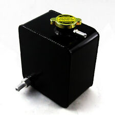 2.5L ALUMINUM RADIATOR COOLANT OVERFLOW TANK & FREE PRESSURE CAP UNIVERSAL PRO