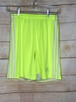 Adidas Regista Shorts Youth YL Large (14) Electric Yellow White Neon F50656
