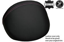 PINK STITCH LEATHER DASH COWL HOOD COVER FITS MG MGF MG TF 1995-2005 STYLE 2