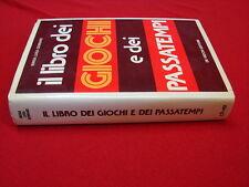 (Maria Luisa Gennaro) Il libro dei giochi e dei passatempi 1976 De Vecchi .