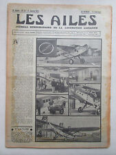 AILES 1935 711 TOULOUSE JUNKERS 160 YACHTING DIESEL AIR BLEU MADAGASCAR GENIN