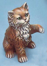Ceramic Bisque Vintage Cat Kitty Paw Up U-Paint Ready to Paint Animal