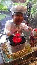 VINTAGE CHEF TOY COOK STRAUME SEF PAVARS BATT.OPERATED 70' CCCP RUSSIA LATVIA
