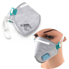 1X Activated Carbon Anti Dust Half Face Mouth Mask Respirator Filter Air Safety