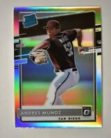 2020 Donruss Optic Rated Rookies Holo #82 Andres Munoz - San Diego Padres