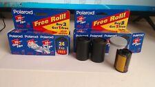 Polaroid 35mm 200 Speed Film - (6) 24 Exp Rolls in Box Exp 01/00 & (1) Kodak 36