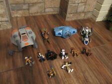 Star Wars Fighter Jet Action Figures Vehicles Lot