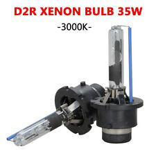 Pair 35W D2R HID Xenon Headlight Bulbs Head Lamp 3000K Yellow Light Replacement