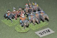 25mm ECW / english - civil war 10 cuirassiers cavalry - cav (21558)
