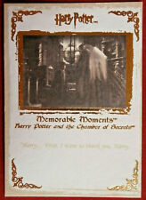 HARRY POTTER - MEMORABLE MOMENTS #1 - Card #33 - I WANT TO THANK YOU HARRY