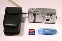 Kyocera Finecam L4v 4.0MP Digital Camera - Silver
