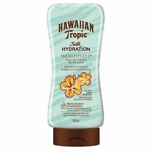 Hawaiian Tropic Silk Hydration Weightless After Sun Moisturizer 480ml LONG EXP