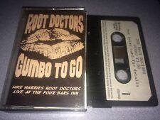 ROOT DOCTORS - GUMBO TO GO (JAZZ/FUNK CASSETTE LIVE ALBUM)(EX COND)