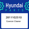 2811102510 Hyundai Coverair cleaner 2811102510, New Genuine OEM Part