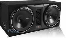 "Rockford Fosgate P3-2X12 2400W Dual 12"" Punch P3 1-Ohm Loaded Subwoofer Box"