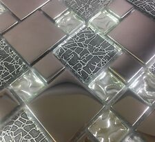 Beautiful High Quality Glass Mosaic Wall Tiles-Kitchen/Bathroom #J32