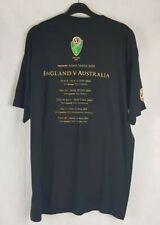 Ashes England V Austraila 2009 Series T shirt Size XL
