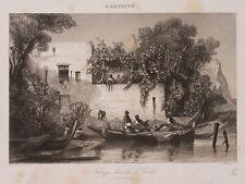 MARVY; CHACATON, 'Fabrique dans lile de Procida', 19. Jh., Vernis mou