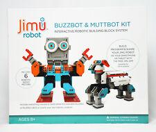 Jimu Robot Buzzbot & Muttbot Kit Interactive Robotic Building Block System *NEW*