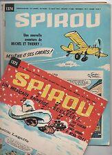 SPIROU lot des n°1374 à 1391 du 13 août au 10 décembre 1964. ETAT NEUF