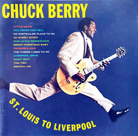 Chuck Berry CD St. Louis To Liverpool - USA (VG+/EX+)