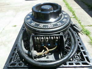 Variac V-20 Vintage General Radio Company Auto Transformer 115v 20 amp, 50-60
