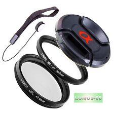 40,5mm MC UV Filter Polfilter Deckel Zubehör passt zu Sony E 16-50 an Alpha 6300