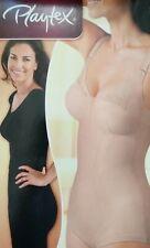 Playtex 2859 Kzg Korselett D-cup Body Modellante Donna Beige 8d IT