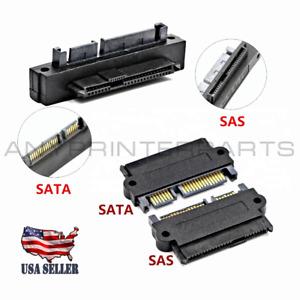 SFF-8482 Computer Cable Connectors SAS to SATA 22 pin HDD Raid Adapter