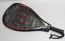 Wilson Ripper Titanium Long String Racquetball Racquet with Cover Used Once