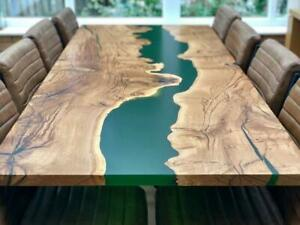 "Epoxy resin Dining Table Top in Acacia Wood ""72x36inch"" in 35MM (Table Top only)"