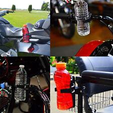 Universal Harley  Motorcycle Bike Drink Cup Holder Beverage Water Bottle BLACK