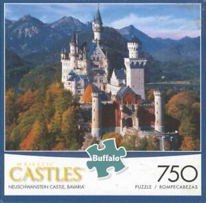 Majestic Castles Buffalo Games Puzzle 750Pc Neuschwanstein Castle,Bavaria