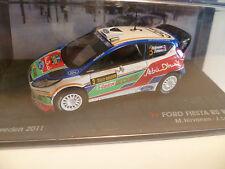 FORD FIESTA RS WRC N°3 M.HIRVONEN : RALLYE DE SUEDE de 2011 ~  NEUF