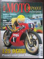 REVUE MOTO D'EPOQUE N°33 BENELLI TORONADO 125 DERBI GP ARIEL DKW YAM RD  MV F4