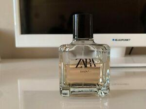 ZARA Oriental EDT 100ml Perfume.about 50% left in bottle