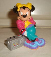 Disney Minnie Mouse With Boombox Radio Pvc Figure Germany Bully