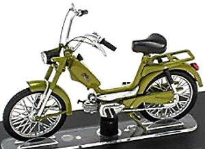 Peripoli Pointer 50 Cc 1974 Moped Motorcycle Green 1:18 Atlas
