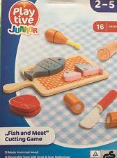"""Playtive Junior """"pesce e carne"""" Gioco di taglio"""