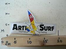 STICKER,DECAL ARTI SURF THE FREE FEELING RARE STICKER 20 CM