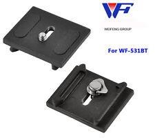 Fancier Weifeng Quick Release Plate For wf-531bt Tirpod --Fit 593BH ball head
