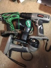 Craftsman / Hitachi Drill Driver And light , Lot Of 4