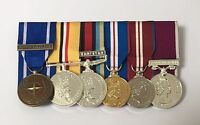 Court Mounted Full Size Medals, IFOR, Iraq, Afghanistan, Jubilee, ACSM, LSGC, Op