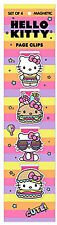 Re-Marks Hello Kitty Burger Shoppe Magnetic Page Clips