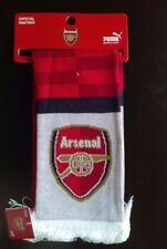 Brand New PUMA Scarf with Tag For Arsenal Fans in   Red-Blue-Bistre-White